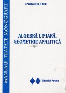 Algebra liniara. Geometrie analitica