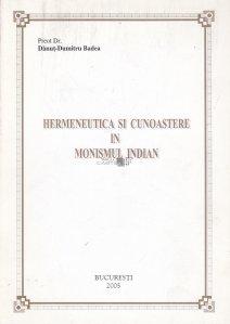 Hermeneutica si cunoastere in monismul indian