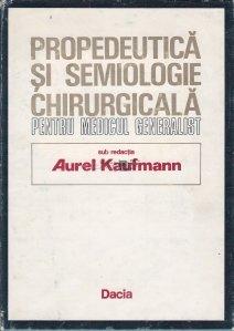 Propedeutica si semiologie chirurgicala