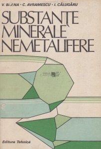 Substantele minerale nemetalifere