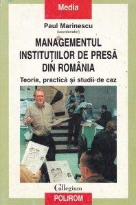 Managementul institutiilor de presa din Romania