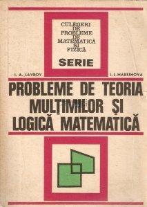 Probleme de teoria multimilor si logica matematica