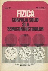 Fizica corpului solid si a semiconductorilor