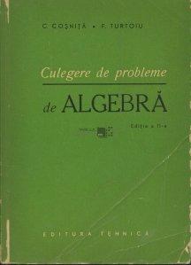 Culegere de probleme de algebra