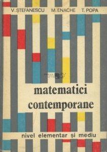 Matematici contemporane