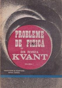 Probleme de fizica din revista Kvant