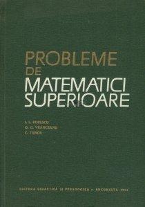 Probleme de matematici superioare