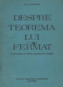 Despre teorema lui Fermat