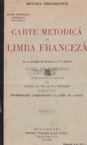 Carte metodica de limba franceza