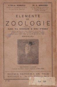 Elemente de zoologie