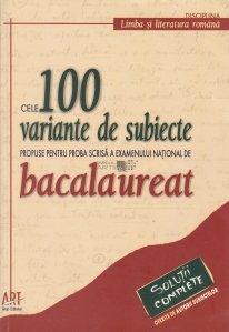 Cele 100 variante de subiecte