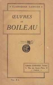 Oeuvre de Boileau
