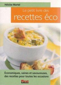 Le petit livre des recettes eco