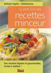 Le petit livre des recettes minceur