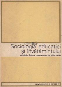 Sociologia educatiei si invatamintului