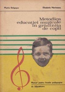 Metodica educatiei muzicale in gradinita de copii