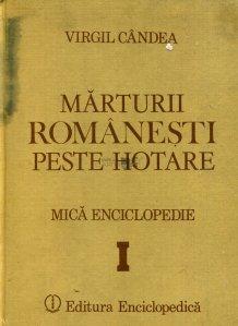 Marturii romanesti peste hotare