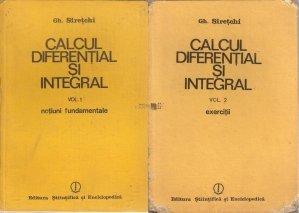 Calcul diferential si integral.
