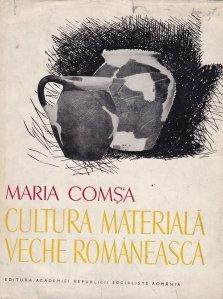 Cultura materiala veche romaneasca