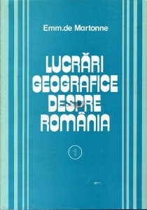 Lucrari geografice despre Romania