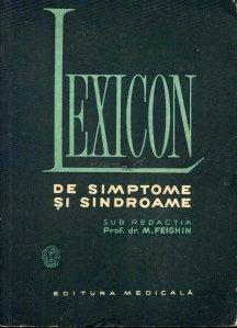 Lexicon de simptoame si sindroame