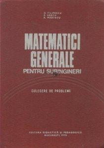 Matematici generale pentru subingineri