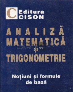 Analiza matematica si trigonometrie