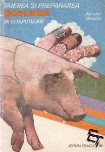 Taierea si prepararea porcului in gospodarie