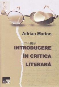Introducere in critica literara