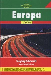 Europa: Road Atlas. Atlas routier. Atlante stradale / Atlas rutier