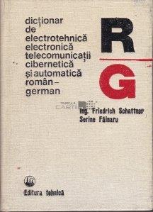 Dictionar de electrotehnica, electronica, telecomunicatii, cibernetica si  automatica roman-german