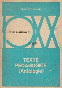 Texte pedagogice
