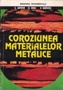 Coroziunea materialelor metalice