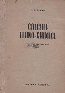 Calcule tehno-chimice