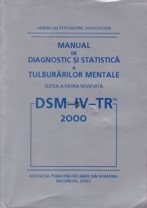 Manual de diagnostic si statistica a tulburarilor mentale