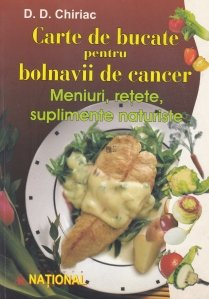 Carte de bucate pentru bolnavii de cancer