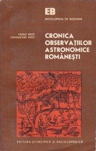 Cronica observatiilor astronomice romanesti
