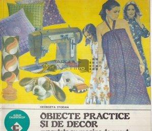 Obiecte practice si de décor executate cu masina de cusut