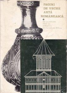 Pagini de veche arta romaneasca
