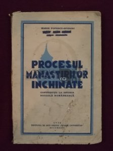 Procesul Manastirilor Inchinate