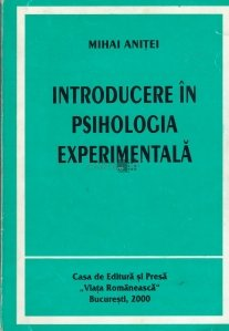 Introducere in psihologia experimentala