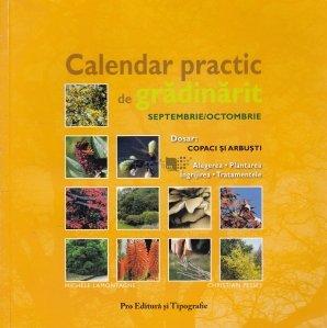 Calendar practic de gradinarit - septembrie/octombrie