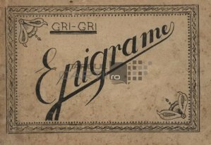 Epigrame