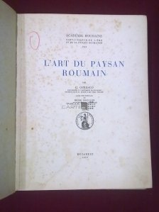 L`art du paysan roumain