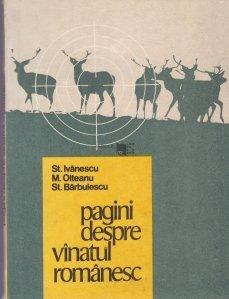 Pagini despre vinatul romanesc