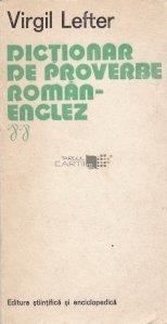 Dictionar de proverbe roman-englez