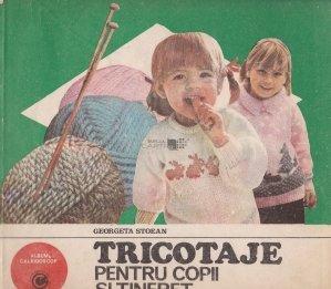 Tricotaje pentru copii si tineret
