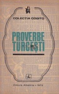 Proverbe turcesti