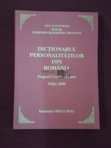 Dictionarul personalitatilor din Romania