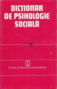 Dictionar de psihologie sociala